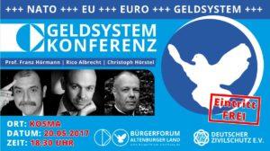 Erste Geldsystem-Konferenz