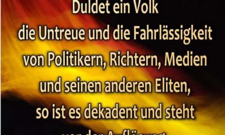 Rassismus gegen die Deutschen