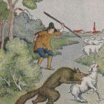 """Der Junge, der """"Wolf!"""" schrie"""