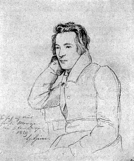 Heinrich Heine: Denk ich an Deutschland in der Nacht, …