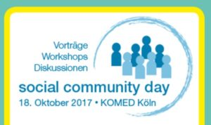 Social Community Day @  KOMED Im MediaPark