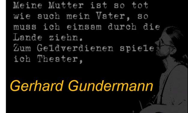 """Gerhard Gundermann – """"Baggerfahrer und Rockpoet"""" aus der DDR"""