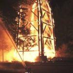 Riesiger ideeller Schaden durch Niederbrennen des Goethe-Turms