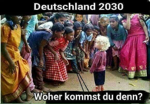 Der Geist von Deutschland wurde durch das Einprügeln auf die Jugend mit den Sünden ihrer Vorfahren zerstört.
