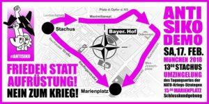 Anti-Sicherheitskonferenz  Demo @ München   Bayern   Deutschland