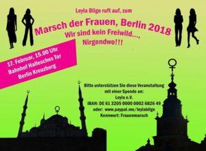 Marsch der Frauen nach Berlin