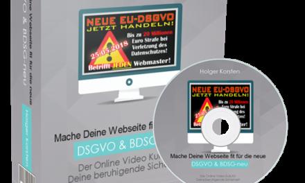 Datenschutz: Mache Deine Webseiten gesetzlich sicher