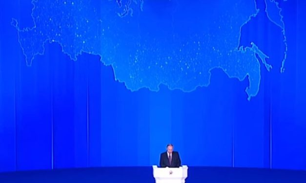 Putins Rede zur Lage der Nation Rußland