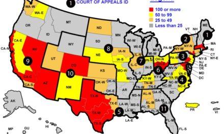 Neue Zahlen über versiegelte Anklageschriften in den USA