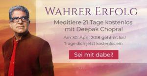 Meditationskurs mit DEEPAK CHOPRA @ Internet